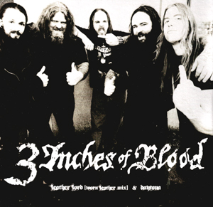 3 INCHES OF BLOOD / AGELUS APATRIDA - split EP      Single