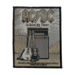 AC/DC - In rock we trust      Aufnäher
