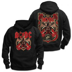 AC/DC - Crossed strings - size XL      Kapuzenpulli - 100 % Baumwolle
