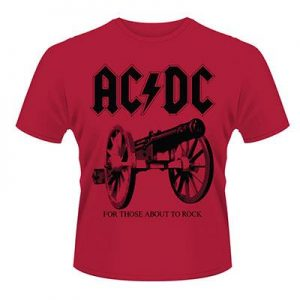 AC/DC - For those about to rock - size L      T-Shirt - 100 % Baumwolle