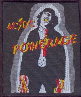 AC/DC - Powerage      Aufnäher