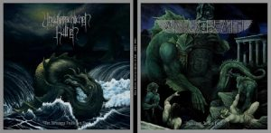 AFTER DEATH / UNAUSSPRECHLICHEN KULTEN - split LP      LP