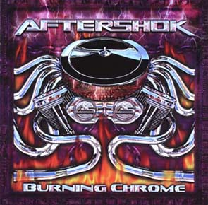 AFTERSHOK - Burning chrome      CD