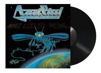 AGENT STEEL - Mad locust rising - rerelease      MLP