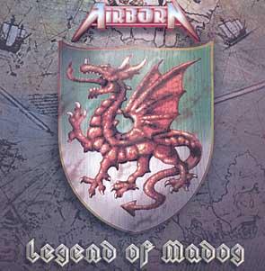 AIRBORN - Legend of madog      CD