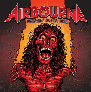 AIRBOURNE - Breakin` outta hell      CD