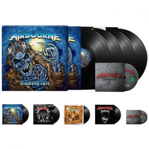AIRBOURNE - Diamond cuts & DVD      4-LP