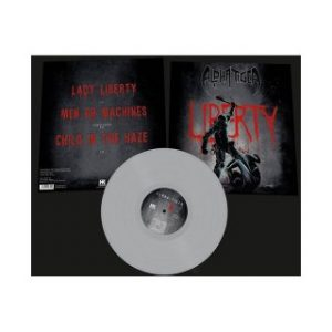 ALPHA TIGER - Lady Liberty - silver vinyl      MLP