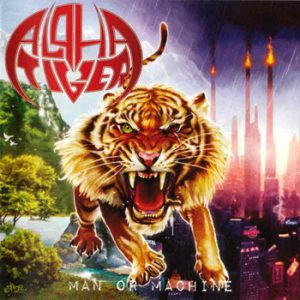 ALPHA TIGER - Man or machine      CD