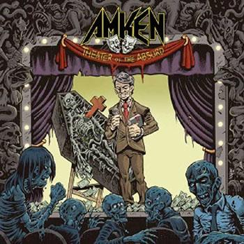 AMKEN - Theater of the absurd      CD