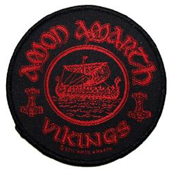 AMON AMARTH - Vikings - circular      Aufnäher