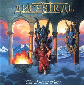 ANCESTRAL - The ancient curse      CD