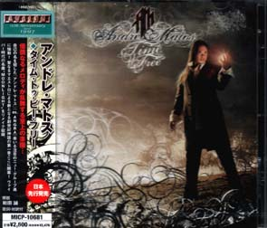 ANDRE MATOS - Time to be free      CD