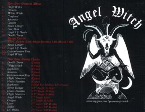 ANGEL WITCH - Angel Witch - deluxe edition      2-CD