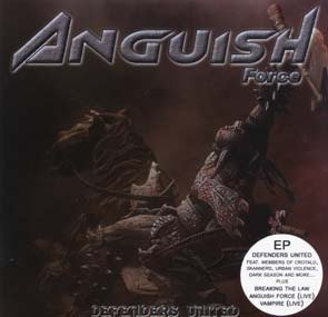 ANGUISH FORCE - Defenders united      Maxi CD