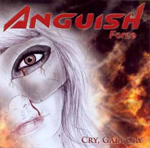 ANGUISH FORCE - Cry, Gaia cry      CD
