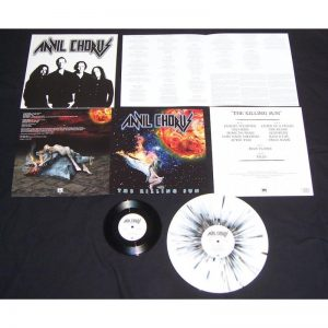 "ANVIL CHORUS - The killing sun & 7"" - splatter vinyl      LP"