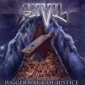 ANVIL - Juggernaut of justice      CD