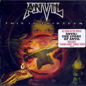 ANVIL - This is thirteen      CD