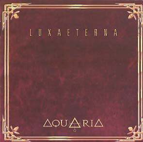 AQUARIA - Luxaeterna      CD