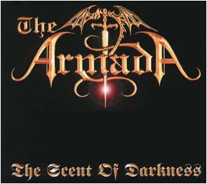 THE ARMADA - The scent of darkness      Maxi CD