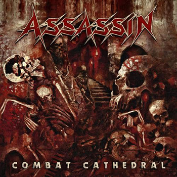 ASSASSIN - Combat cathedral      CD
