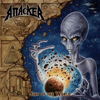 ATTACKER - Sins of the world      CD