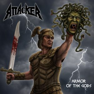 ATTACKER - Armor of the gods      CD
