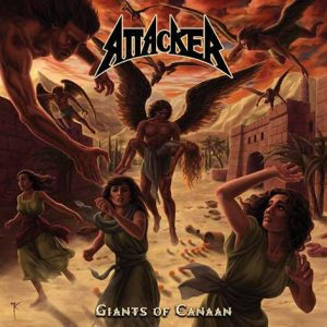 ATTACKER - Giants of Canaan      CD