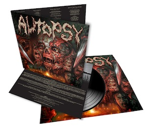 AUTOPSY - Headless ritual      LP