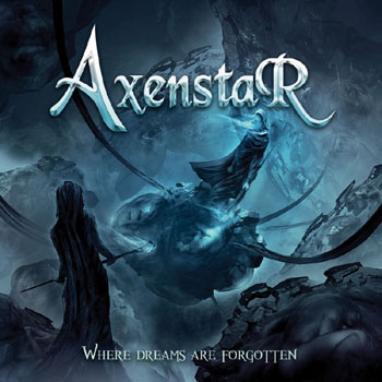 AXENSTAR - Where dreams are forgotten      CD