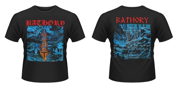 BATHORY - Blood on ice - size XL      T-Shirt - 100 % Baumwolle