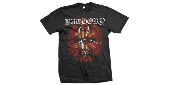 BATHORY - Fire goat - size XL      T-Shirt - 100 % Baumwolle