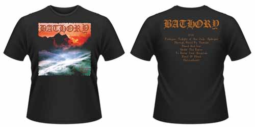 BATHORY - Twilight of the gods - size XL      T-Shirt - 100 % Baumwolle