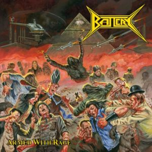 BATTERY - Armed with rage      CD