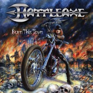 BATTLEAXE - Burn this town & bonustracks - BBC Session!      CD