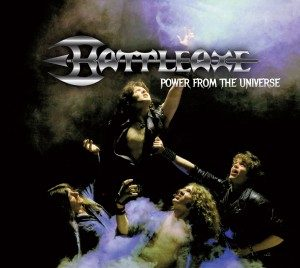 BATTLEAXE - Power from the universe & 4 bonustracks - digipak      CD