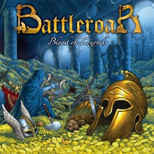 BATTLEROAR - Blood of legends      CD