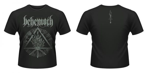 BEHEMOTH - Furor divinus 2 - size XL      T-Shirt - 100 % Baumwolle