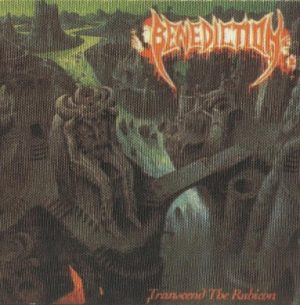 BENEDICTION - Transcend the rubicon      Aufnäher