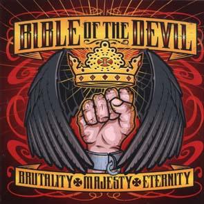BIBLE OF THE DEVIL - Brutality majesty eternity      CD