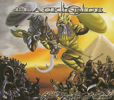 BLACK INSIDE - The weigher of souls      CD