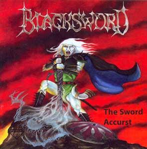 BLACKSWORD - The sword accurst      CD
