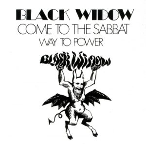 BLACK WIDOW - Come to the sabbat      Single