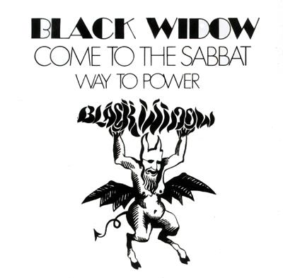 BLACK WIDOW - Come to the sabbat      Single
