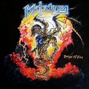 BLITZKRIEG - Reign of fire      Single