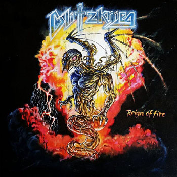 BLITZKRIEG - Reign of fire      Single