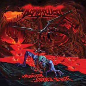BLOODROCUTED - Disaster strikes back      CD