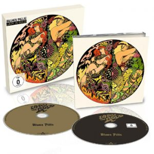 BLUES PILLS - Lady in gold      CD&DVD