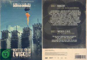 BÖHSE ONKELZ - Nichts ist für die Ewigkeit      2-DVD